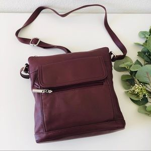 Giani Bernini Faux Leather Crossbody Bag